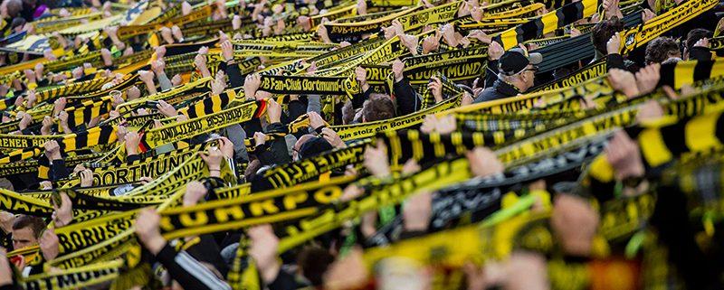 Samstag 28.02.2015, 1. Fussball - Bundesliga Saison 14/15 -  23. Spieltag in Borussia, BV Borussia Dortmund - FC Schalke 04, BVB Fans Signal Iduna Park , SchalsCopyright: Borussia Dortmund GmbH & Co. KGaA Rheinlanddamm 207-209 44137 Dortmund